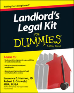 Harmon, Laurence - Landlord's Legal Kit For Dummies, ebook