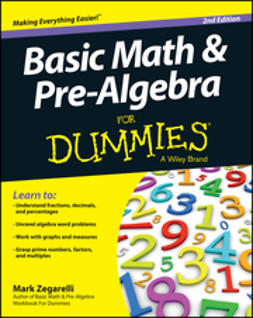 Zegarelli, Mark - Basic Math and Pre-Algebra For Dummies, ebook