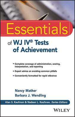Mather, Nancy - Essentials of WJ IV Tests of Achievement, ebook
