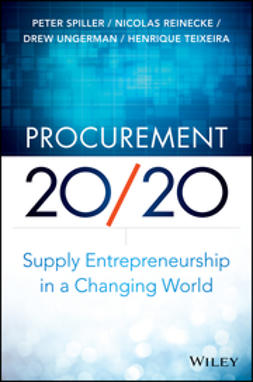 Reinecke, Nicolas - Procurement 20/20: Supply Entrepreneurship in a Changing World, ebook