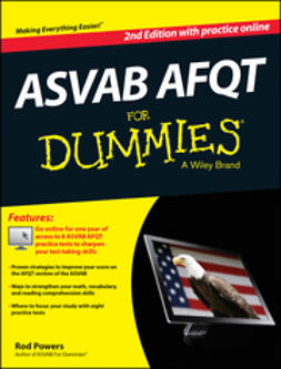 Powers, Rod - ASVAB AFQT For Dummies, with Online Practice Tests, ebook