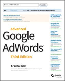 Geddes, Brad - Advanced Google AdWords, e-bok