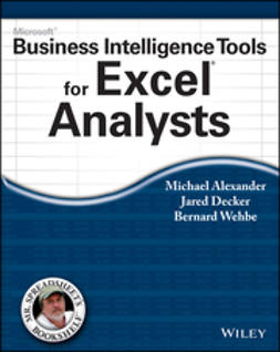 Alexander, Michael - Microsoft Business Intelligence Tools for Excel Analysts, ebook