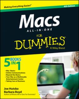 Boyd, Barbara - Macs All-in-One For Dummies, e-bok