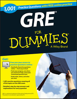 - 1,001 GRE Practice Questions For Dummies (+ Free Online Practice), ebook