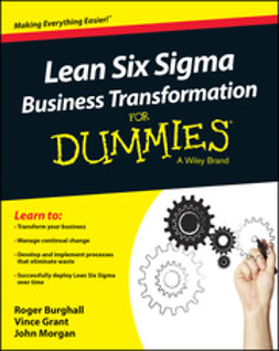 Burghall, Roger - Lean Six Sigma Business Transformation For Dummies, e-kirja