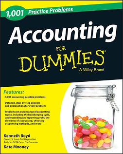 Boyd, Kenneth - 1,001 Accounting Practice Problems For Dummies, e-kirja