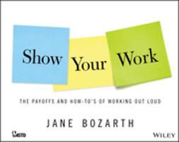 Bozarth, Jane - Show Your Work, ebook