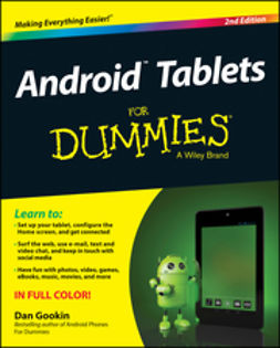 Gookin, Dan - Android Tablets For Dummies, e-kirja