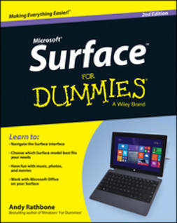 Rathbone, Andy - Surface For Dummies, e-kirja