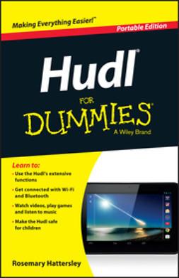 Hattersley, Rosemary - Hudl For Dummies, e-kirja