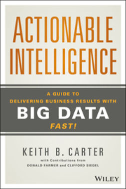 Carter, Keith B. - Actionable Intelligence: A Guide to Delivering Business Results with Big Data Fast!, e-kirja