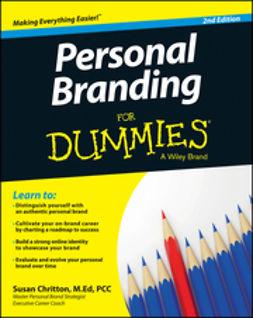 Chritton, Susan - Personal Branding For Dummies, e-bok