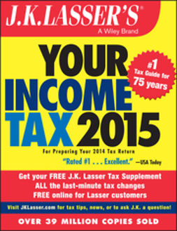 - J.K. Lasser's Your Income Tax 2015: For Preparing Your 2014 Tax Return, e-kirja
