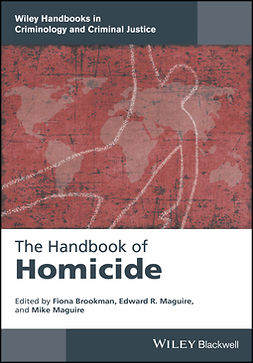 Brookman, Fiona - The Handbook of Homicide, e-bok