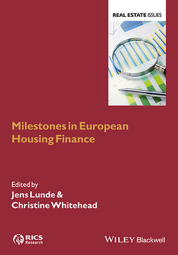 Lunde, Jens - Milestones in European Housing Finance, ebook
