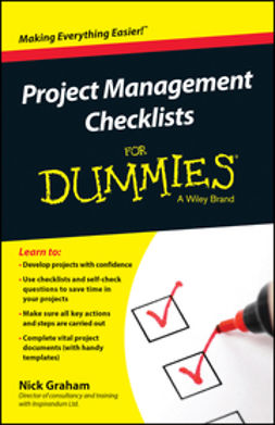 Graham, Nick - Project Management Checklists For Dummies, ebook