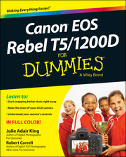 Correll, Robert - Canon EOS Rebel T5/1200D For Dummies, ebook