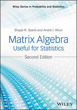 Khuri, Andre I. - Matrix Algebra Useful for Statistics, e-bok