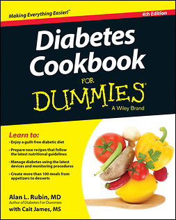 James, Cait - Diabetes Cookbook For Dummies, e-bok