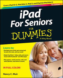 Muir, Nancy C. - iPad For Seniors For Dummies, e-kirja