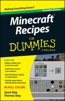 Stay, Jesse - Minecraft Recipes For Dummies, ebook