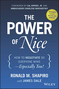 Barshefsky, Charlene - The Power of Nice: How to Negotiate So Everyone Wins - Especially You!, e-bok