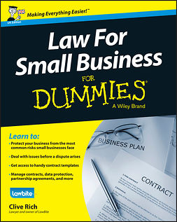 Rich, Clive - Law for Small Business For Dummies - UK, e-kirja