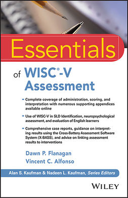 Alfonso, Vincent C. - Essentials of WISC-V Assessment, ebook