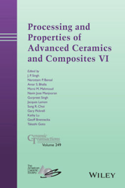 Bansal, Narottam P. - Processing and Properties of Advanced Ceramics and Composites VI: Ceramic Transactions, ebook