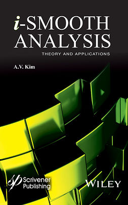 Kim, Arkadii V. - i-Smooth Analysis: Theory and Applications, ebook