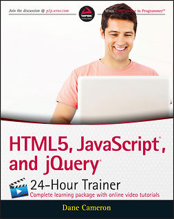 Cameron, Dane - HTML5, JavaScript, and jQuery 24-Hour Trainer, e-kirja