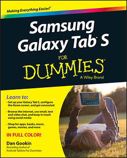 Gookin, Dan - Samsung Galaxy Tab S For Dummies, ebook