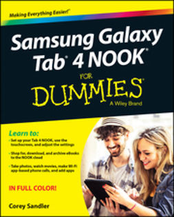 Sandler, Corey - Samsung Galaxy Tab 4 NOOK For Dummies, ebook