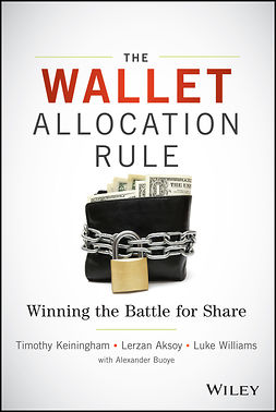 Aksoy, Lerzan - The Wallet Allocation Rule: Winning the Battle for Share, ebook