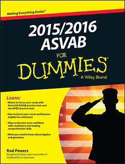 Powers, Rod - 2015 / 2016 ASVAB For Dummies, ebook
