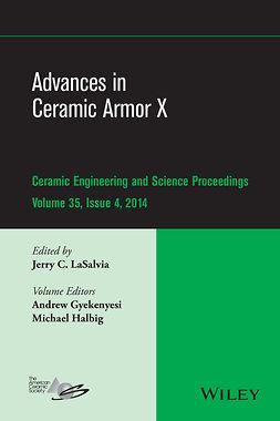 Gyekenyesi, Andrew - Advances in Ceramic Armor X: Ceramic Engineering and Science Proceedings, Volume 35 Issue 4, ebook