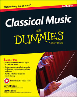Pogue, David - Classical Music For Dummies, e-bok