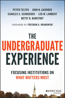 Barefoot, Betsy O. - The Undergraduate Experience: Focusing on What Matters Most, ebook