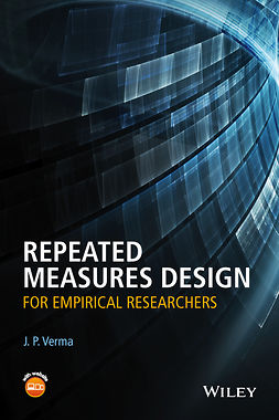 Verma, J. P. - Repeated Measures Design for Empirical Researchers, e-bok