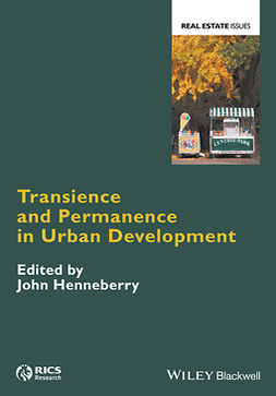 Henneberry, John - Transience and Permanence in Urban Development, e-kirja