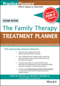 Dattilio, Frank M. - The Family Therapy Treatment Planner, with DSM-5 Updates, 2nd Edition, e-bok
