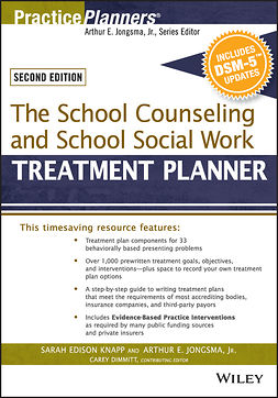 Dimmitt, Catherine L. - The School Counseling and School Social Work Treatment Planner, with DSM-5 Updates, 2nd Edition, e-bok