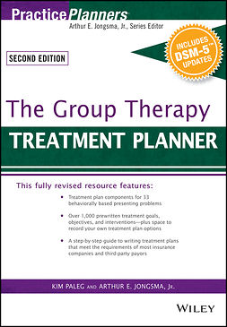 Jongsma, Arthur E. - The Group Therapy Treatment Planner, with DSM-5 Updates, ebook