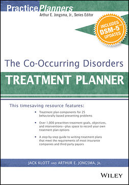 Jongsma, Arthur E. - The Co-Occurring Disorders Treatment Planner, with DSM-5 Updates, e-kirja