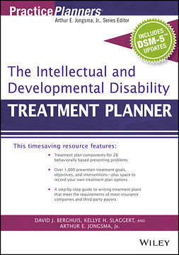 Berghuis, David J. - The Intellectual and Developmental Disability Treatment Planner, with DSM 5 Updates, ebook