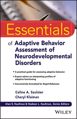 Klaiman, Cheryl - Essentials of Adaptive Behavior Assessment of Neurodevelopmental Disorders, e-bok