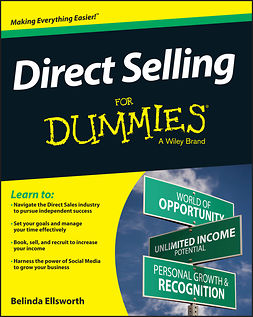 Ellsworth, Belinda - Direct Selling For Dummies, e-bok