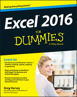 Harvey, Greg - Excel 2016 For Dummies, e-bok