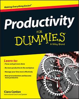 Conlon, Ciara - Productivity For Dummies, ebook
